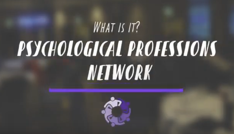 What is the Psychological Professions Network?