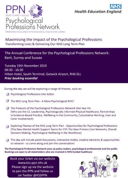 PPN Annual Conference 2019 Poster