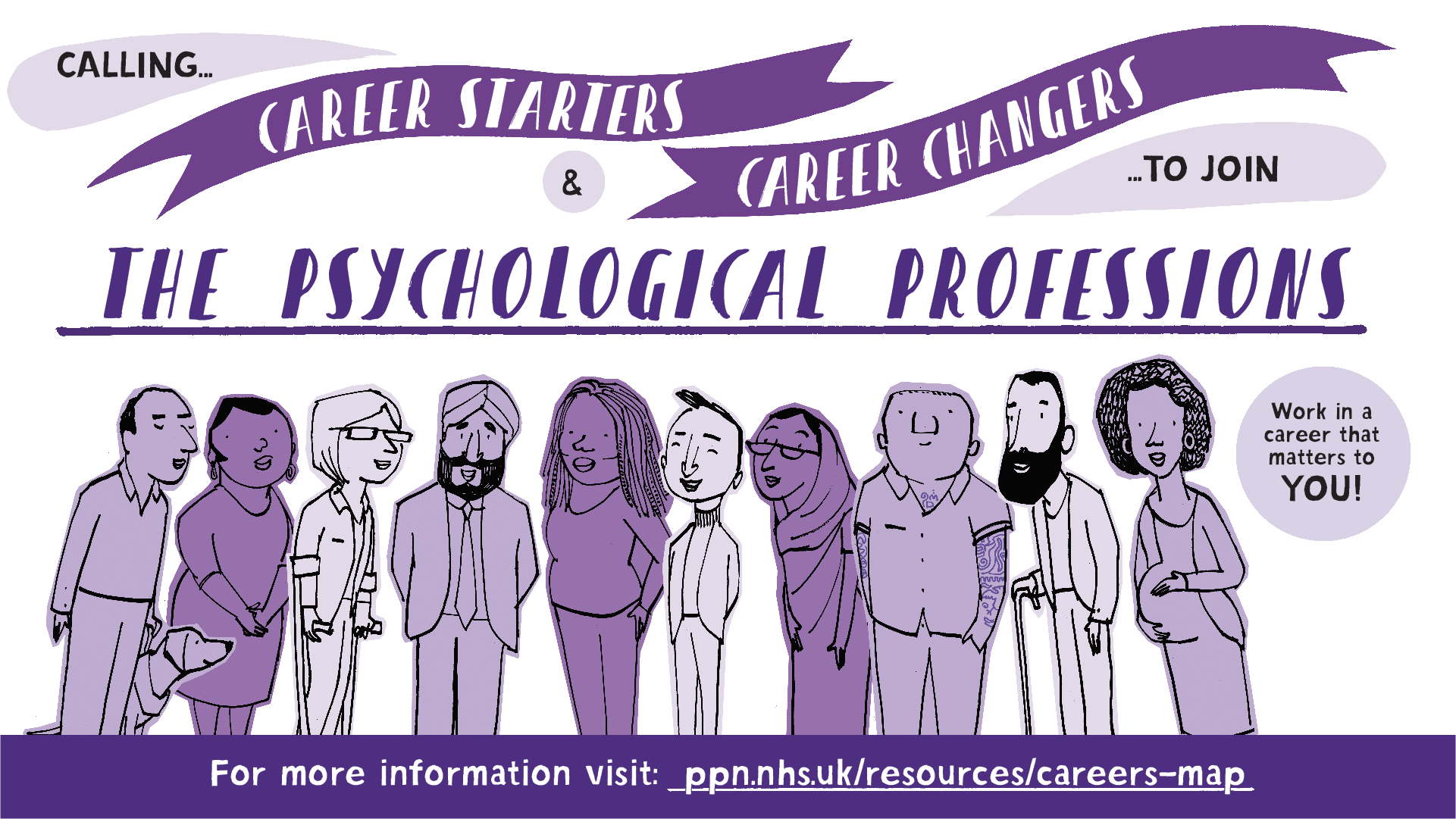 Calling Career Starters and Career Changers Poster