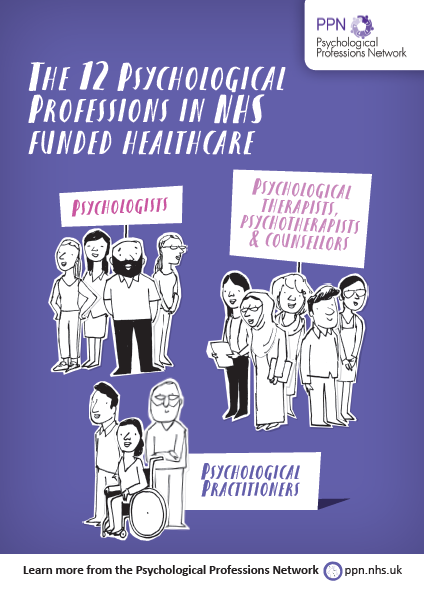 Who are the 12 Psychological Professions in NHS-funded healthcare?