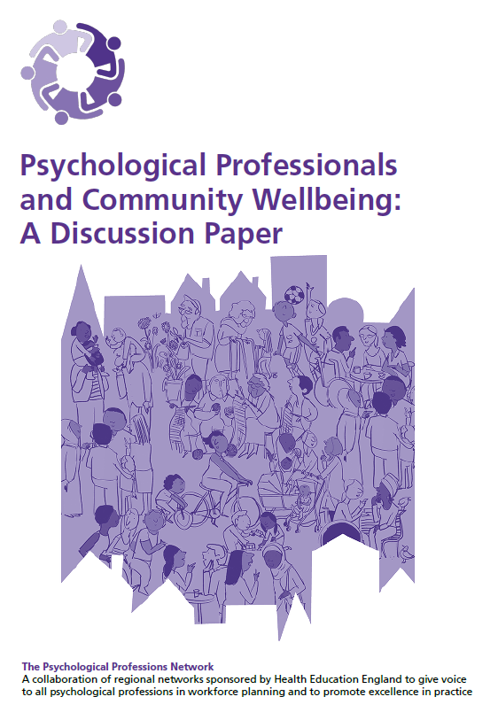 Psychological Professionals and Community Wellbeing: Discussion Paper